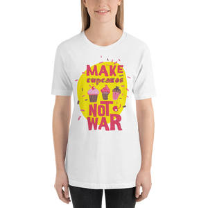 Make Cupcakes  - Round Neck T-Shirt - TheSixtyNine