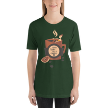 Fall In Coffee  - Round Neck T-Shirt - TheSixtyNine