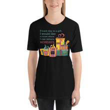 Each Day Is A Gift - Round Neck T-Shirt - TheSixtyNine