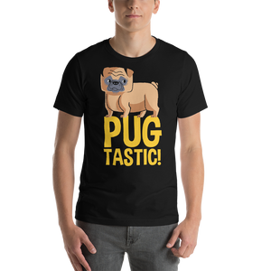 Pug Tastic - Round Neck T-Shirt For Men - TheSixtyNine