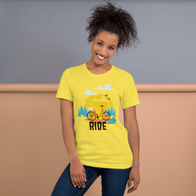 Girl Ride  - Round Neck T-Shirt - TheSixtyNine
