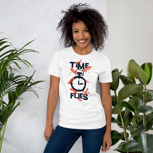 Time Flies - Round Neck T-Shirt - TheSixtyNine