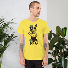 Tea Rex - Round Neck T-Shirt For Men - TheSixtyNine