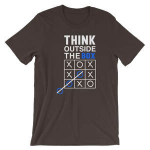 Think out of Box - Round Neck T-Shirt - TheSixtyNine