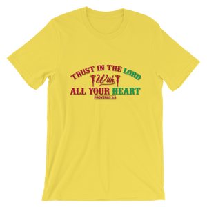 Trust in the Lord  - Round Neck T-Shirt For Men - TheSixtyNine