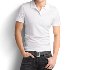 White - Polo T-Shirt - TheSixtyNine