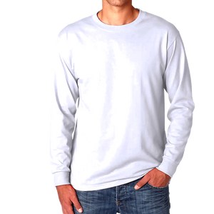 White - Plain Full Sleeves T-Shirt - TheSixtyNine