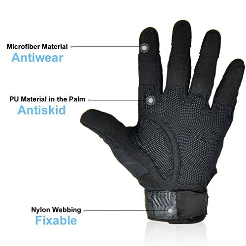 Master Touchscreen Bike Gloves
