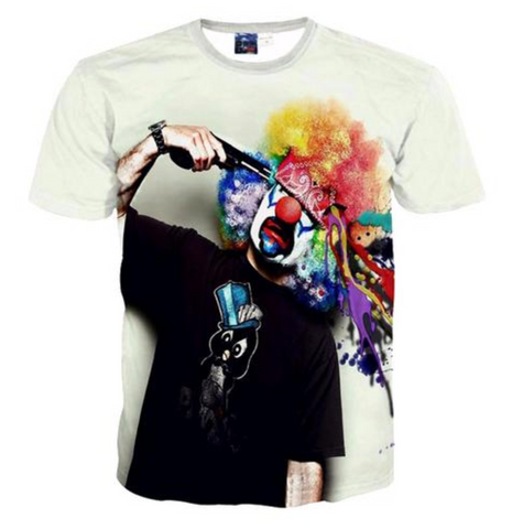 CLOWN SHOT T-SHIRT