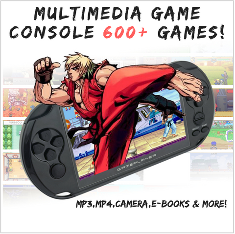 MULTIMEDIA GAME CONSOLE 600+ GAMES