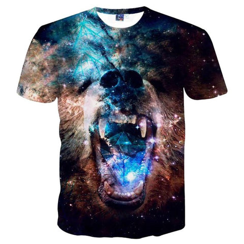 BEAR GALAXY T-SHIRT