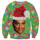 CARLTON BANKS XMAS SWEATSHIRT
