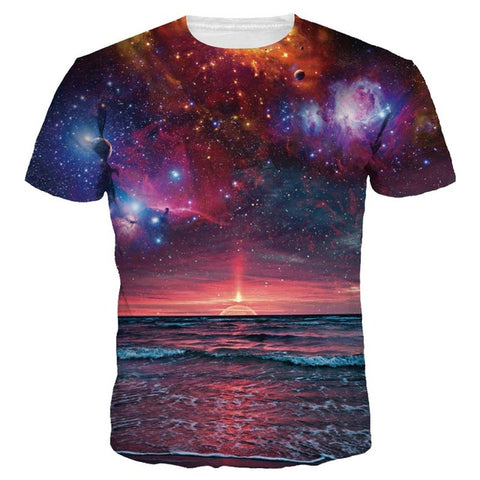 BEACH GALAXY T-SHIRT