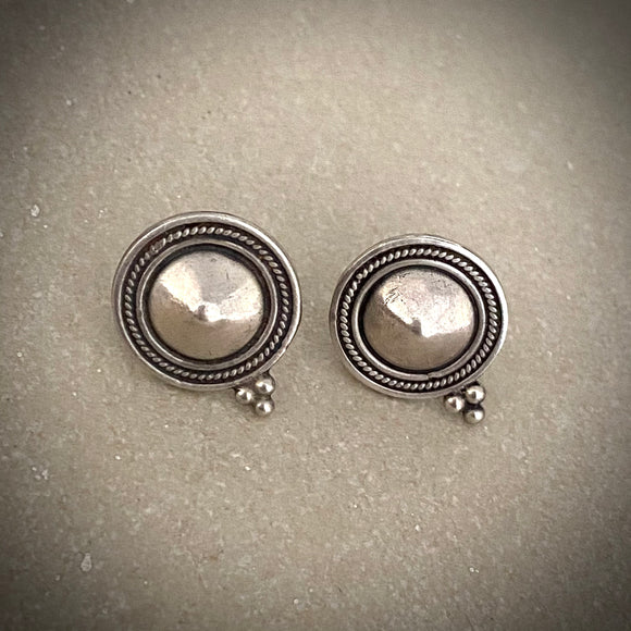 Tribal Ethnic dotted studs