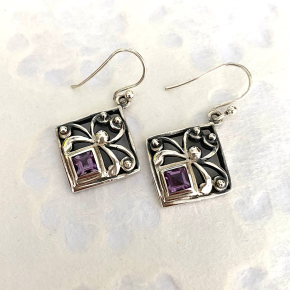 Squared Amethyst