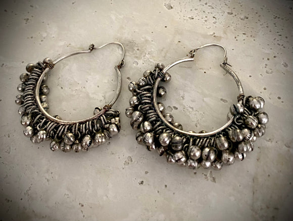 Tribal Bell Hoops