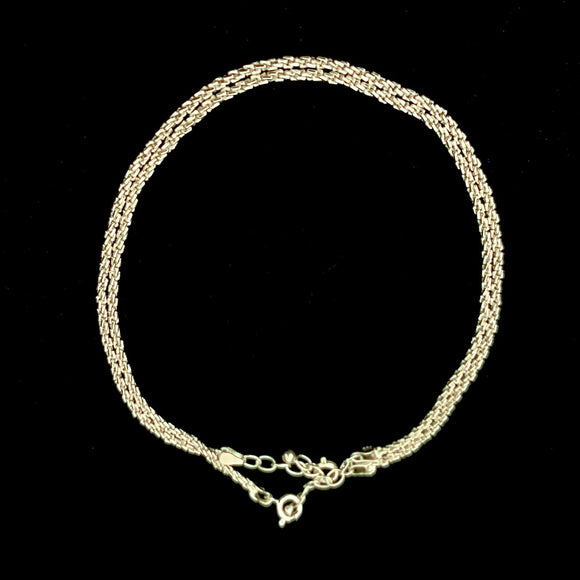 Thin Twisted Rope Anklet
