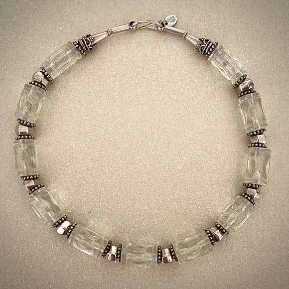 Stonned Crystal necklace