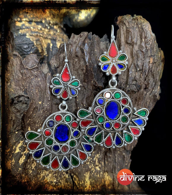 Sheesha Earring Multi Color