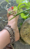 Silver Antique Anklets