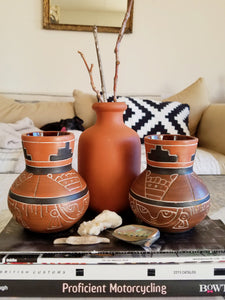 Terra Cotta Vessel Collection - Sold Separately