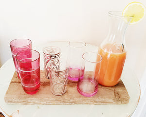 Glam Juice Glass Collection - Sold Separately