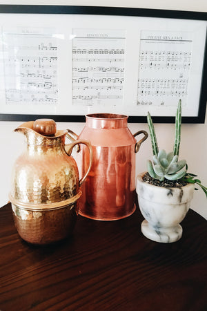 Dreamy Large Metal Vessels - Sold Separately