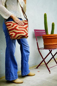 VIA Wool Jute Crossbody - $98