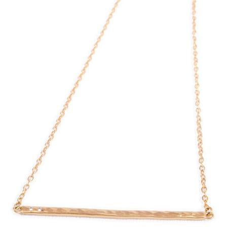 VIA - Line Necklace - $38