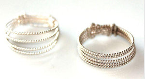 JBS Trio Rings Rose Gold - $25