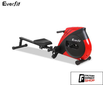 Rowing Machine Elastic Robe System 4 x Levels-Everfit