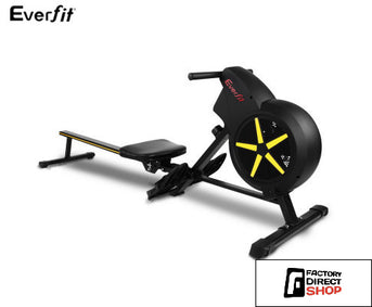 Rowing Machine Air Resistance 8 x Levels-Everfit