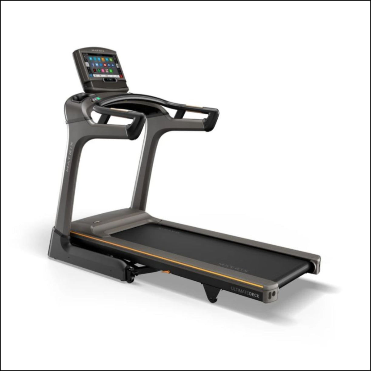 MATRIX TF30 XIR - EOFY Experience a natural, powerful run with the industry's most advanced frame and deck combination. Our TF30 Treadmill includes a folding design, plus our exclusive Johnson Drive System and Ultimate Deck System.