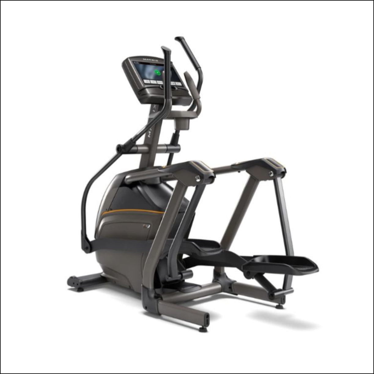 MATRIX E30 XIR Elliptical A harmony of design and natural movement. Offer your customers the most compact, most comfortable, smoothest-moving elliptical in the industry.