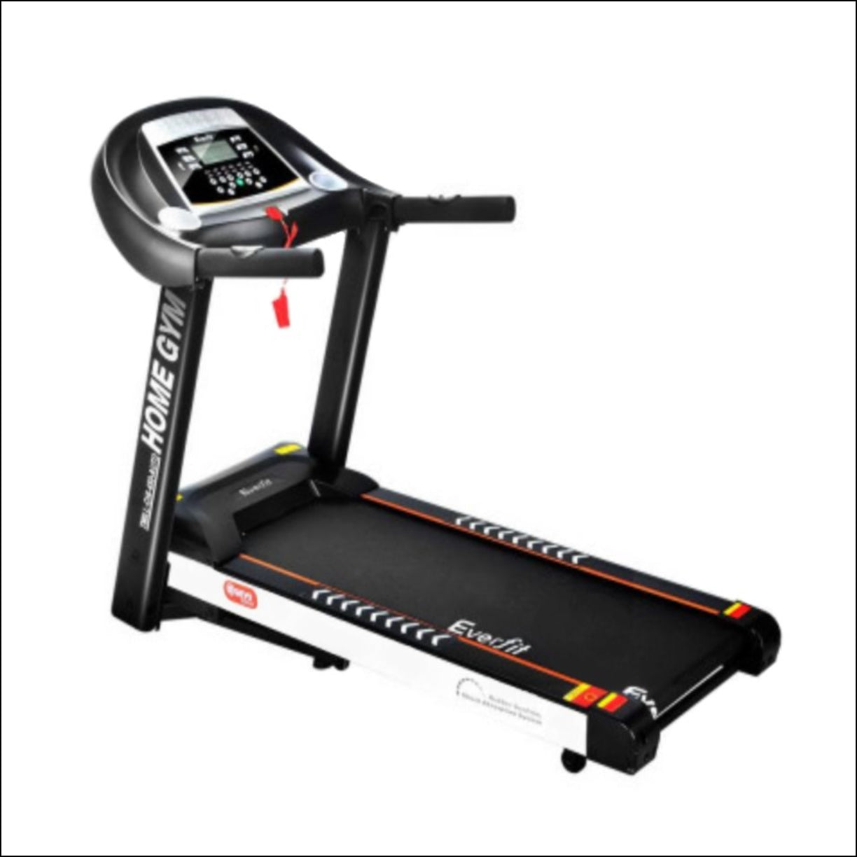 The Electric Treadmill features 12 pre-set training programs designed to simulate natural terrain. A user-centric control panel with a digital LCD display lets you set up speeds of between 0.8kmh and 18kmh and other monitoring parameters.