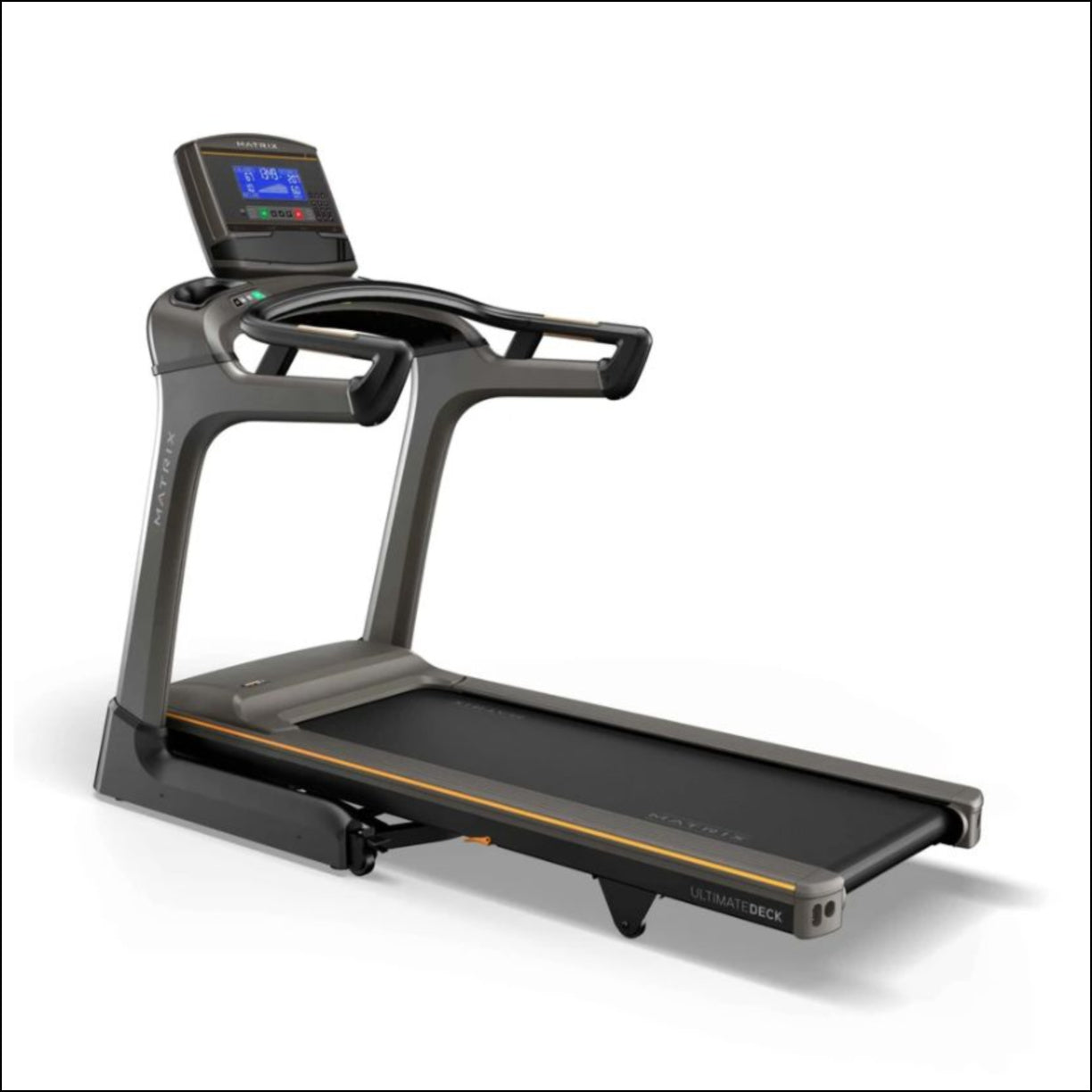 MATRIX TF30 XR Treadmill Experience a natural, powerful run with the industry's most advanced frame and deck combination. Our TF30 Treadmill includes a folding design, plus our exclusive Johnson Drive System and Ultimate Deck System.