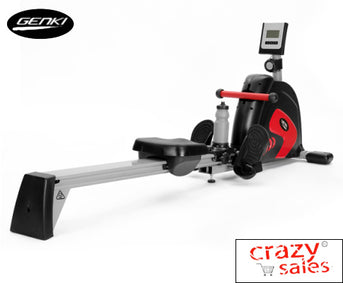 Magnetic Rowing Machine with 15 Levels- Genki