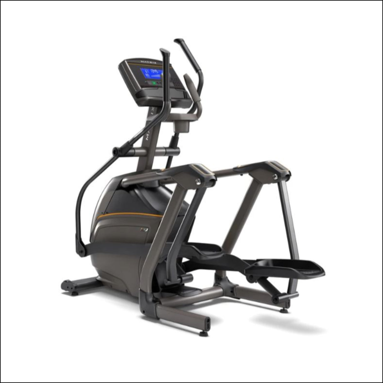 MATRIX E30 XR Elliptical A harmony of design and natural movement. Offer your customers the most compact, most comfortable, smoothest-moving elliptical in the industry.