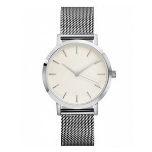 Quart's Metal Analog Wrist Watch