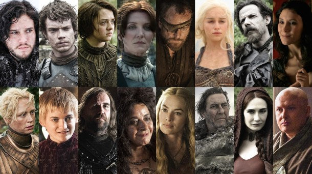 Top 10 Best Game of Thrones characters