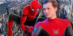 Spiderman far from home with Tom Holland unmasked
