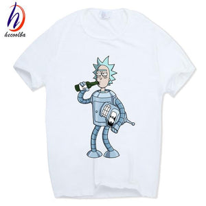 Rick dressed as bender Tshirt