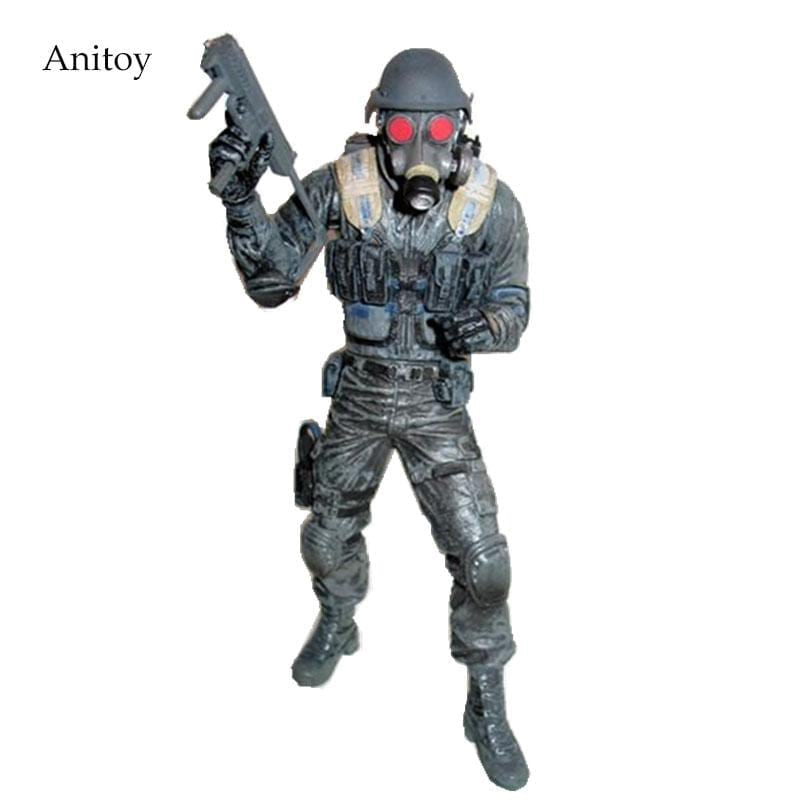 Free shipping NECA Hunk 10th anniversary Resident Evil ARCHIVES SERIES 2 Action Figure 7