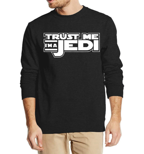 STAR WARS Trust Me I'm a Jedi knight autumn winter men sweatshirt 2016 new fashion hoodies streetwear harajuku  clothing - Geek gizmos