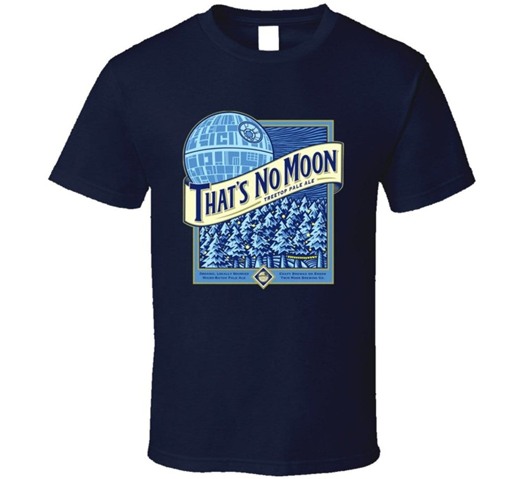 Men's Blue moon parody shirt. - Geek gizmos