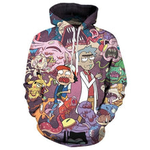 Rick and Morty Hoodies Men Women 3D Sweatshirts Pullover Autumn Tracksuit Sudadera Hombre Casual Cartoon Anime Hoodie Dropship - Geek gizmos
