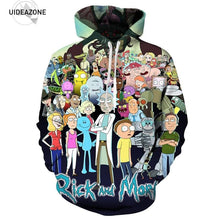 Rick and Morty Autumn Winter Hoodies Men Women New Fashion Pullovers Hooded Tops Casual Brand Hoodie Sweatshirts Dropship - Geek gizmos