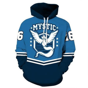 Pokemon Sweatshirt MYSTIC VALOR  Pullover Hoodies