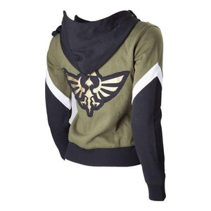 The Legend of Zelda Link Hoodie Zipper Coat Jacket