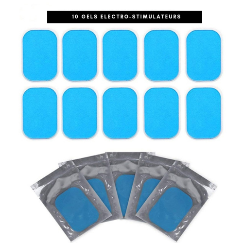 Electro-stimulator replacement gels